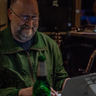 Flaschenpost Abends Wunschlieder Kiosk Simon van Parys April 2020-7
