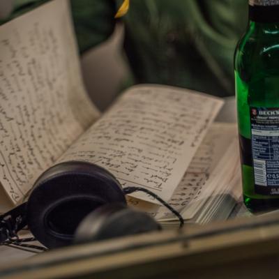Flaschenpost Abends Wunschlieder Kiosk Simon van Parys April 2020-84